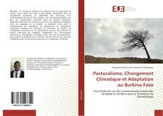 Capa do livro de Pastoralisme, Changement Climatique et Adaptation au Burkina Faso