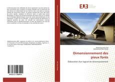 Bookcover of Dimensionnement des pieux forés