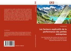 Bookcover of Les facteurs explicatifs de la performance des petites entreprises