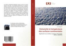 Emissivité et température des surfaces continentales kitap kapağı