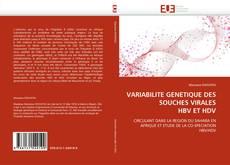 Bookcover of VARIABILITE GENETIQUE DES SOUCHES VIRALES HBV ET HDV