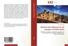 Buchcover von Histoire des littératures de voyage- Le XVIIe siècle