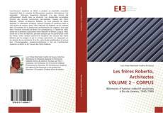 Обложка Les frères Roberto, Architectes VOLUME 2 – CORPUS