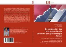 Détermination des contraintes dans la chromine par spectroscopie Raman kitap kapağı