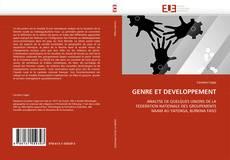 Bookcover of GENRE ET DEVELOPPEMENT