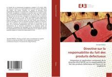 Bookcover of Directive sur la responsabilite du fait des produits defectueux