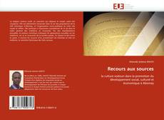 Bookcover of Recours aux sources