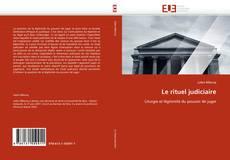 Buchcover von Le rituel judiciaire