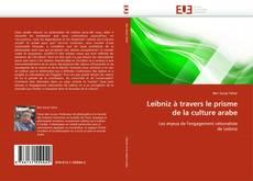 Buchcover von Leibniz à travers le prisme de la culture arabe