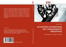 Portada del libro de ACTIVATION AUTOMATIQUE DES CONNAISSANCES PERCEPTIVES