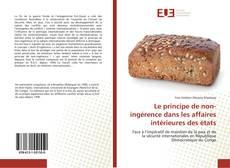 Capa do livro de Le principe de non-ingérence dans les affaires intérieures des états