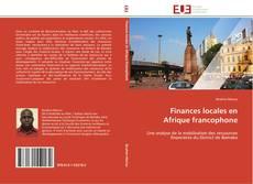 Couverture de Finances locales en Afrique francophone