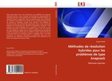 Méthodes de résolution hybrides pour les problèmes de type knapsack kitap kapağı