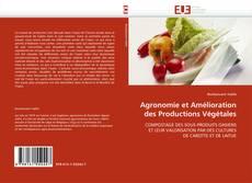 Agronomie et Amélioration des Productions Végétales kitap kapağı