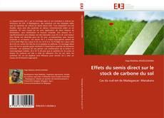Effets du semis direct sur le stock de carbone du sol kitap kapağı