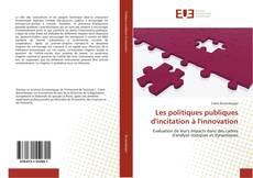 Portada del libro de Les politiques publiques d'incitation à l'innovation