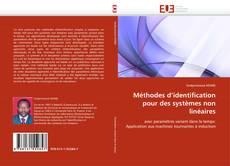 Méthodes d'identification pour des systèmes non linéaires kitap kapağı