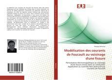 Capa do livro de Modélisation des courants de Foucault au voisinage d'une fissure