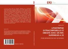 Bookcover of LITHOTRIPSIE EXTRACORPORELLE ET OBESITE AVEC UN IMC SUPERIEUR A 35