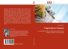 Bookcover of L'Agriculture Urbaine