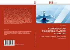Bookcover of GESTION DE L'EAU D'IRRIGATION ET ACTION COLLECTIVE