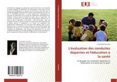 L'évaluation des conduites dopantes et l'éducation à la santé kitap kapağı