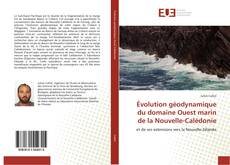 Couverture de Évolution géodynamique du domaine Ouest marin de la Nouvelle-Calédonie