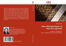 Capa do livro de Rites thérapeutiques et bien-être spirituel