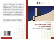Portada del libro de Reconstruction 3D de scènes urbaines