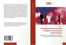 Portada del libro de Développement durable, éthique et entreprise: quels enjeux?