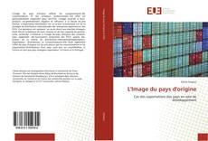 Bookcover of L'Image du pays d'origine