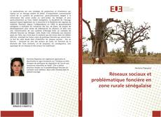Bookcover of Réseaux sociaux et problématique foncière en zone rurale sénégalaise
