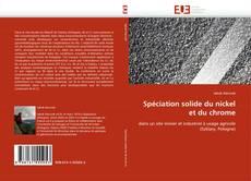 Bookcover of Spéciation solide du nickel et du chrome