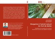 Couverture de Margarine à l'extrait naturel du fruit de dattes