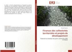 Bookcover of Finances des collectivités territoriales et projets de développement