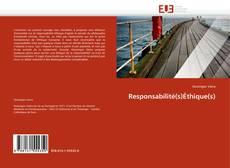 Portada del libro de Responsabilité(s)Éthique(s)
