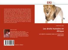 Bookcover of Les droits humains en Afrique