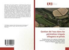 Portada del libro de Gestion de l'eau dans les périmètres irrigués villageois et privés