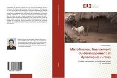 Microfinance, financement du développement et dynamiques rurales kitap kapağı