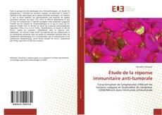 Buchcover von Étude de la réponse immunitaire anti-tumorale