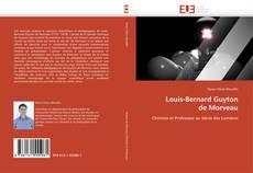 Louis-Bernard Guyton  de Morveau kitap kapağı