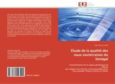 Portada del libro de Étude de la qualité des eaux souterraines du Sénégal