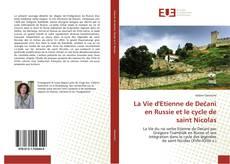 Bookcover of La Vie d'Etienne de Dečani en Russie et le cycle de saint Nicolas