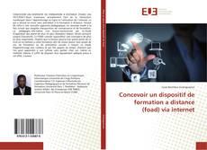Couverture de Concevoir un dispositif de formation a distance (foad) via internet