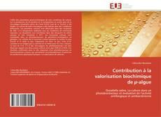 Contribution à la valorisation biochimique de µ-algue的封面