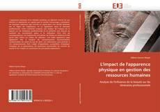 Bookcover of L'impact de l'apparence physique en gestion des ressources humaines