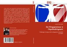 Buchcover von De l'Orgapreneur à l'Apollodirigeant