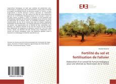 Fertilité du sol et fertilisation de l'olivier的封面