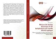 Mesure de champ électrique et de température par sonde électro-optique kitap kapağı