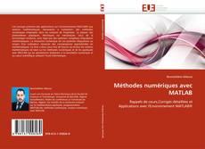 Buchcover von Méthodes numériques avec MATLAB